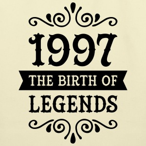 1997 - The Birth Of Legends T-Shirts - Eco-Friendly Cotton Tote