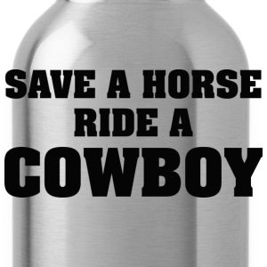 Save A Horse Ride A Cowboy - Water Bottle