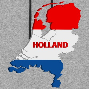 Holland map T-Shirts - Colorblock Hoodie