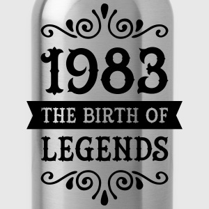 1983 - The Birth Of Legends Women's T-Shirts - Water Bottle