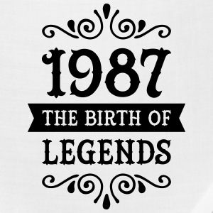 1987 - The Birth Of Legends Women's T-Shirts - Bandana