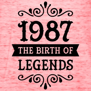 1987 - The Birth Of Legends Women's T-Shirts - Women's Flowy Tank Top by Bella