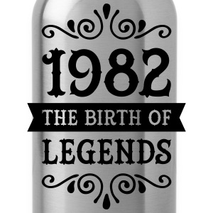 1982 - The Birth Of Legends Women's T-Shirts - Water Bottle