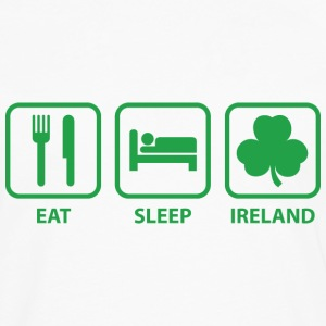 Eat Sleep Ireland - Men's Premium Long Sleeve T-Shirt