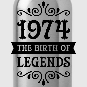 1974 - The Birth Of Legends T-Shirts - Water Bottle