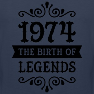 1974 - The Birth Of Legends T-Shirts - Men's Premium Tank