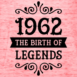 1962 - The Birth Of Legends Women's T-Shirts - Women's Flowy Tank Top by Bella