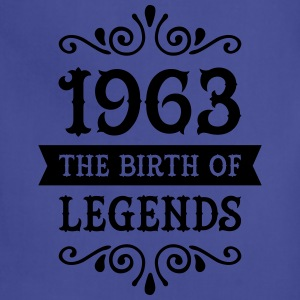 1963 - The Birth Of Legends Women's T-Shirts - Adjustable Apron
