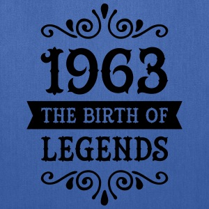 1963 - The Birth Of Legends Women's T-Shirts - Tote Bag