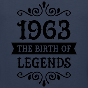 1963 - The Birth Of Legends Women's T-Shirts - Men's Premium Tank