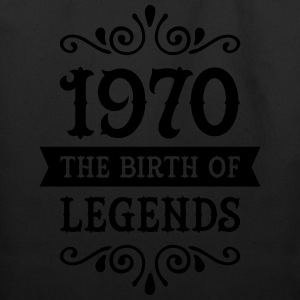 1970 - The Birth Of Legends T-Shirts - Eco-Friendly Cotton Tote