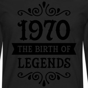 1970 - The Birth Of Legends T-Shirts - Men's Premium Long Sleeve T-Shirt