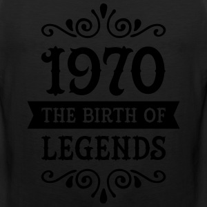 1970 - The Birth Of Legends T-Shirts - Men's Premium Tank