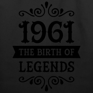1961 - The Birth Of Legends Women's T-Shirts - Eco-Friendly Cotton Tote