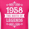 1958 - The Birth Of Legends T-Shirts - Men's T-Shirt