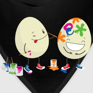 Funny Easter eggs T-Shirts - Bandana