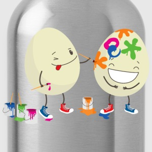 Funny Easter eggs T-Shirts - Water Bottle