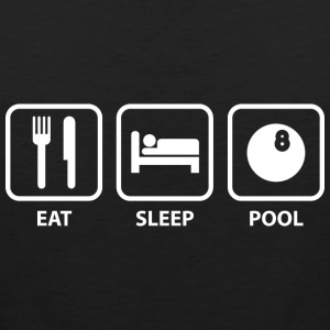Eat Sleep Pool - Men's Premium Tank
