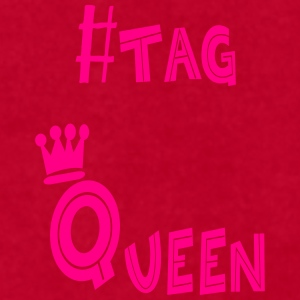 #tag Queen - Men's T-Shirt by American Apparel