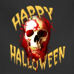 Happy Halloween Bloody Skull T-Shirts - Adjustable Apron