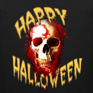 Happy Halloween Bloody Skull T-Shirts - Men's Premium Tank