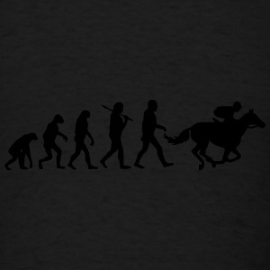 Horse Racing Evolution  Sportswear - Men's T-Shirt