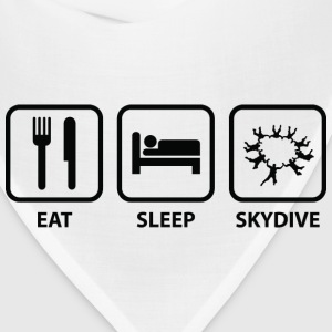 Eat Sleep Skydive - Bandana