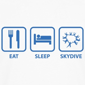 Eat Sleep Skydive - Men's Premium Long Sleeve T-Shirt