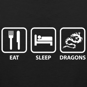 Eat Sleep Dragons - Men's Premium Tank