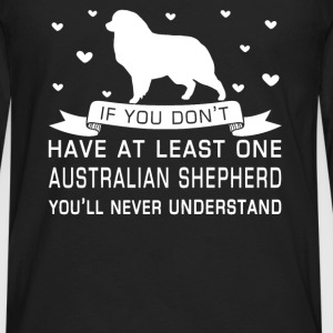 Australian Shepherd - Men's Premium Long Sleeve T-Shirt