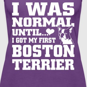 Boston Terrier - Women's Premium Tank Top