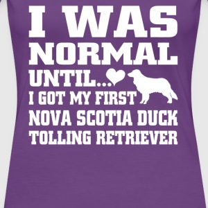Nova Scotia Duck Tolling Retriever - Women's Premium T-Shirt
