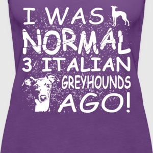 Italian Greyhounds - Women's Premium Tank Top