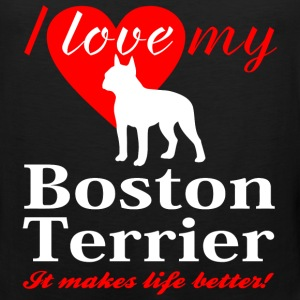 Boston Terrier - Men's Premium Tank
