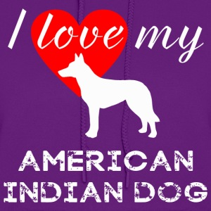 American Indian Dog - Women's Hoodie