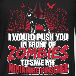 Miniature Pinscher - Men's Premium Long Sleeve T-Shirt