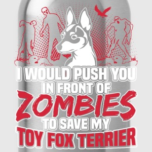 Toy Fox Terrier - Water Bottle