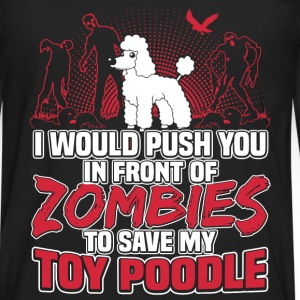 Toy Poodle - Men's Premium Long Sleeve T-Shirt