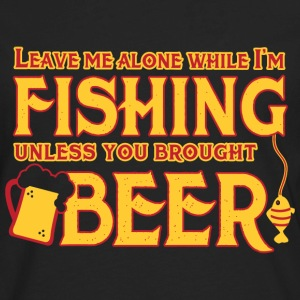 Fishing Beer - Men's Premium Long Sleeve T-Shirt