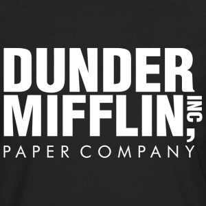 Dunder Mifflin Inc Paper Company - Men's Premium Long Sleeve T-Shirt