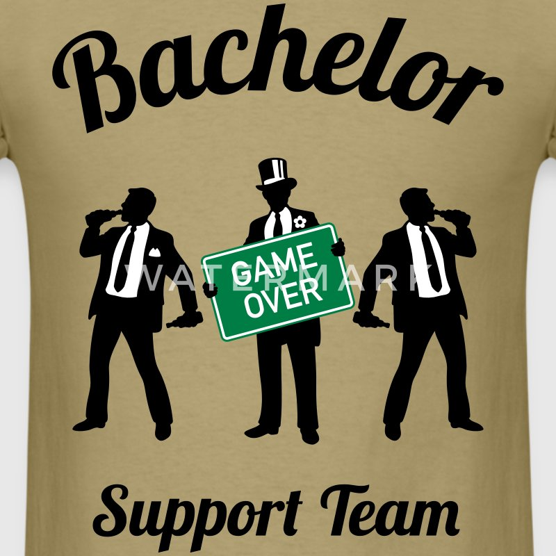 Bachelor Game Over Support Team (Stag Party / 3C) T-Shirts - Men's T-Shirt