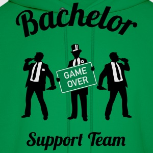 Bachelor Game Over Support Team (Stag Party / 3C) T-Shirts - Men's Hoodie