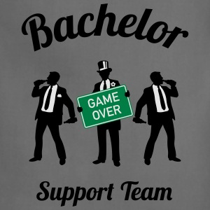 Bachelor Game Over Support Team (Stag Party / 3C) T-Shirts - Adjustable Apron