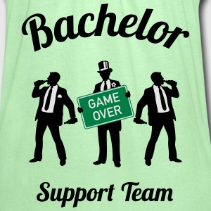 Bachelor Game Over Support Team (Stag Party / 3C) T-Shirts - Women's Flowy Tank Top by Bella