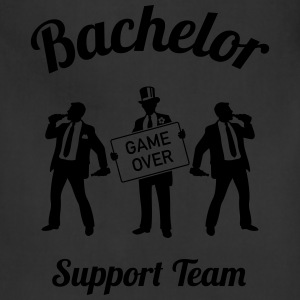 Bachelor Game Over Support Team (Stag Party / 1C) T-Shirts - Adjustable Apron