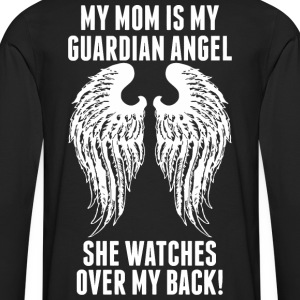 My Mom Is My Guardian Angel She Watches Over My - Men's Premium Long Sleeve T-Shirt