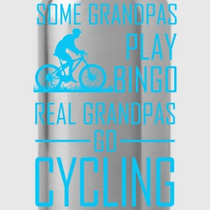 Some Grandpas Play Bingo Real Grandpas Go Cyclin - Water Bottle