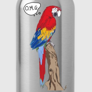 OMG parrot - Water Bottle
