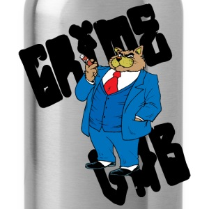 grime-lab-fat-cat T-Shirts - Water Bottle