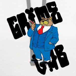 grime-lab-fat-cat T-Shirts - Contrast Hoodie